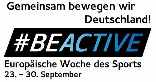 Europäische Woche des Sports 23. bis 30. September